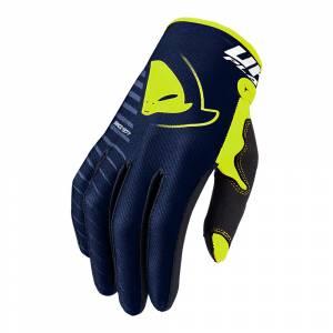 UFO Skill Kimura Blue Yellow Motocross Gloves