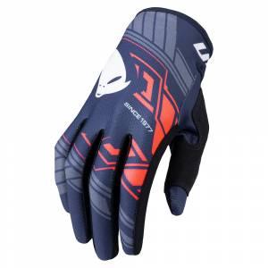 UFO Skill Heron Blue Motocross Gloves