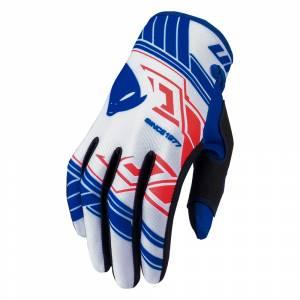UFO Skill Heron White Motocross Gloves