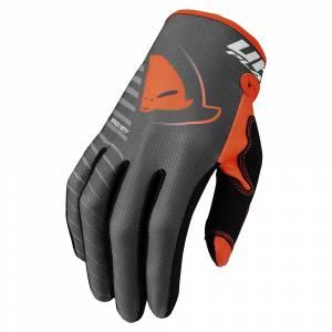UFO Kids Skill Kimura Grey Orange Motocross Gloves