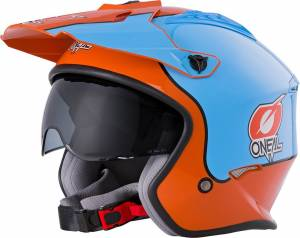 ONeal Volt Gulf Orange Blue Open Face Helmet