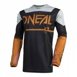 ONeal Hardwear Surge Black Brown Motocross Jersey
