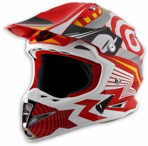 UFO Warrior Motocross Helmet - Storm