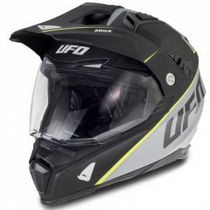 Aries Dual Sport Helmet Black Grey