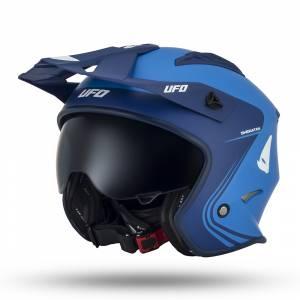 UFO Sheratan Jet Blue Open Face Helmet