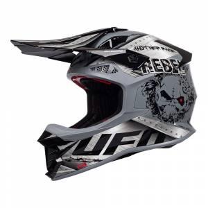 UFO Intrepid Metal Motocross Helmet