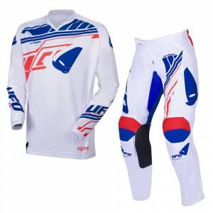 UFO Heron White Motocross Kit Combo
