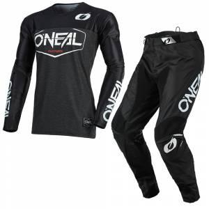 ONeal Mayhem Hexx Black Motocross Kit Combo