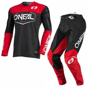 ONeal Mayhem Hexx Black Red Motocross Kit Combo