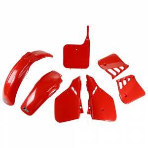 Honda Plastic Kit CR 250 (1987) UFO Red