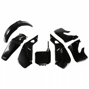 Honda Plastic Kit CR 125 (98-99) CR 250 (97-99) Black