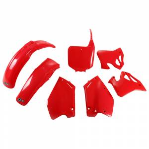 Honda Plastic Kit CR 125 (95-97) CR 250 (95-96) CR Red
