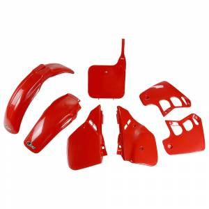 Honda Plastic Kit CR 125 (89-90) Red