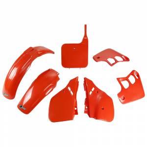 Honda Plastic Kit CR 125 (89-90) CR Orange