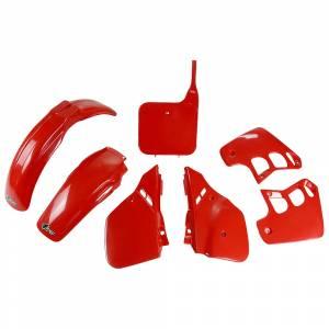 Honda Plastic Kit CR 125 (87-88) Red