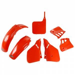 Honda Plastic Kit CR 125 (87-88) CR Orange