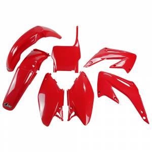 Honda Plastic Kit CR 125 250 (05-07) CR-CRF Red