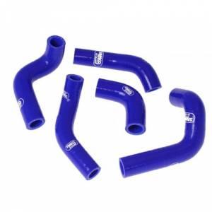 Samco Sport 5 Piece Coolant Hose Kit Husqvarna TE/TC 400/450/510 (02-10) - Blue