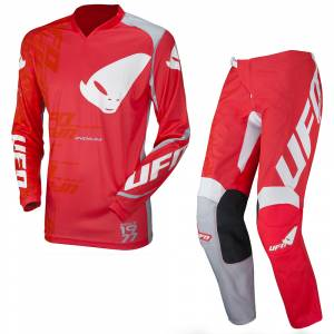 UFO Indium Red Motocross Kit Combo