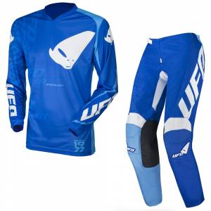 UFO Indium Blue Motocross Kit Combo