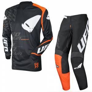 UFO Indium Black Motocross Kit Combo