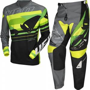UFO Joint Grey Green Motocross Kit Combo