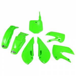 Kawasaki Plastic Kit KLX 110 KX Green