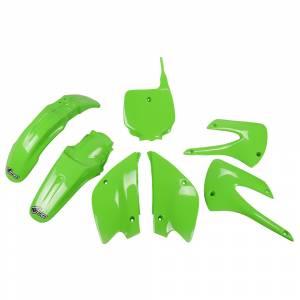 Kawasaki Restyled Plastic Kit KX 85 KX Green