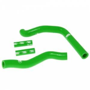Samco Sport 4 Piece Coolant Hose Kit Kawasaki KX 250 (08-13) - Green
