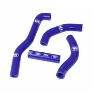 Samco Sport 4 Piece Coolant Hose Kit Kawasaki KX 250 (89) - Blue