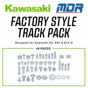 MDR Factory Style Track Pack Kit for Kawasaki KX KXF KLX-R
