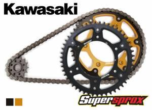 DID Chain And Stealth Sprocket Kit - Kawasaki KX 85