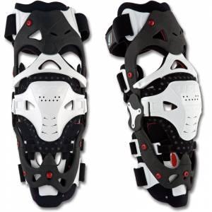 UFO Morpho FIT White Knee Brace Pair