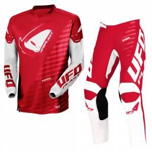 UFO Kids Kimura Red Motocross Kit Combo