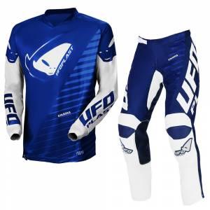 UFO Kids Vanadium Grey Motocross Kit Combo