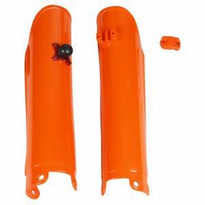 UFO KTM Fork slider Protectors + Quick Starter