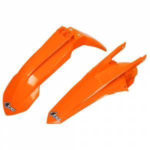 UFO KTM Fender Kit Neon Orange