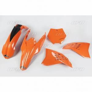 UFO Plastic Kit KTM SX SXF (09-10) Orange