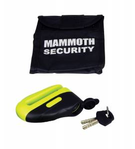 Mammoth Yellow Blast Disc Lock