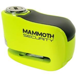 Mammoth Gremlin Alarm Disc Lock Fluo Yellow