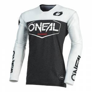 ONeal Mayhem Hexx Black White Motocross Jersey