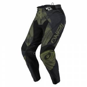 ONeal Mayhem Covert Black Green Motocross Pants