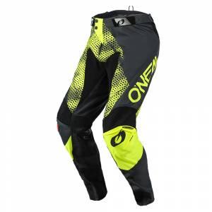 ONeal Mayhem Covert Charcoal Neon Yellow Motocross Pants