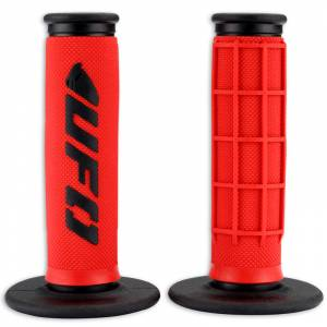 UFO Challenger Dual Density Grips - Red (MA01823-B)