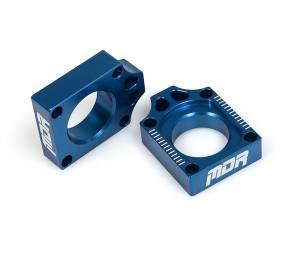 MDR Axle Blocks YZ 125 250 (09-ON) YZF 250 (09-13) YZF 450 (09-13) Blue