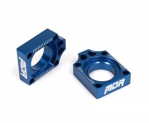 MDR Axle Blocks YZF 250 (14-ON) YZF 450 (14-ON) Blue
