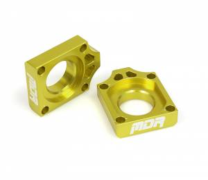 MDR Axle Blocks RM 125 250 (02-08) Yellow