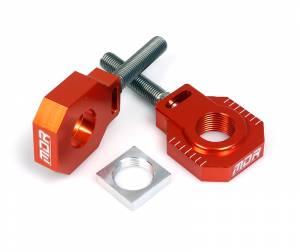 MDR Rear Axel Blocks & Adjuster KTM SX 85 (13-16) Orange