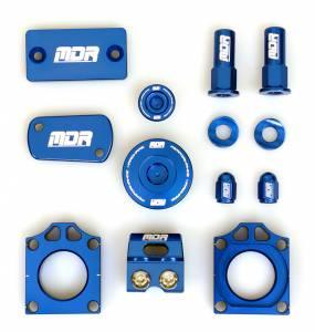 Kawasaki FACTORY Bling Kit for KXF 250 (11-ON) KXF 450 (06-ON) KLX 450 (08-09) - Blue