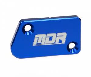 MDR Front Brake Reservoir Cover Yamaha 125/250 (08-ON), YZF 250 (07-ON), YZF 450 (07-ON) - Blue
